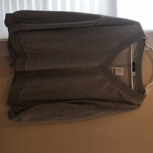 Cozy grey v neck urban outfitters